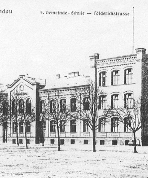 Schulgebäude 1920